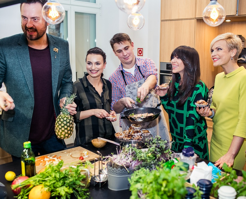 Natalia Kukulska, Marcin Prokop, Anna Starmach, Ola Kostka - Kuchnia Spotkań IKEA